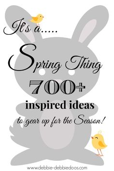 700+ #Spring thing inspired ideas. #crafts, #recipes,#diy,#homedecor and More! All in one place.