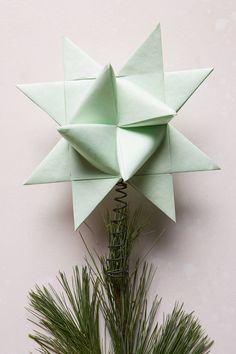 Origami Star Tree To