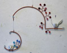 Birds and Beads Mobile