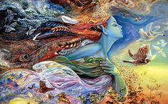 wall art, mothers, color, wall paintings, mother earth