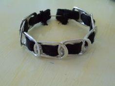 soda can tab bracelets!!