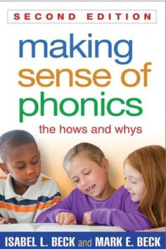 Love this book as a guide for phonics instruction.