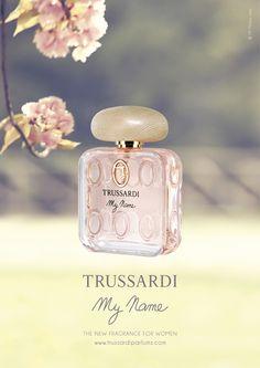 Il flacone di Trussardi MY NAME, disegnato da Antonio Citterio #Perfume