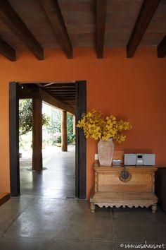 casa rústica mexicana / Mexican style foyer   Casa Haus