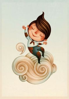 Gaia Bordicchia Illustrations: Cloud 9
