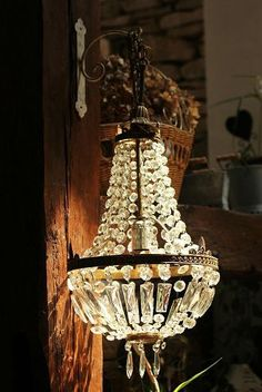 Crystal sconce  Lady-Gray-Dreams