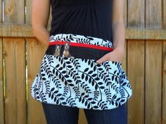 Craft apron tutorial from Bean's Blog