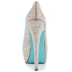 Wish - Champage  Something Blue By Betsey Johnson $169.99