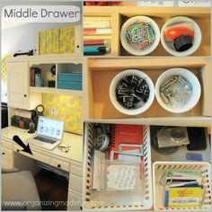 Organizing my office