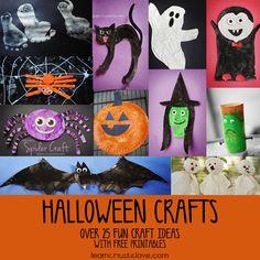 Halloween Crafts Round-Up