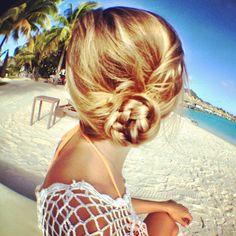 Cute Beach Hair