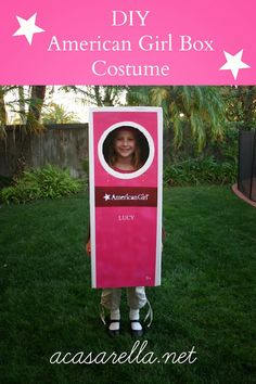 'A Casarella: DIY American Girl Box Halloween Costume