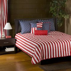 Victor Mill Stars & Stripes Bedding By Victor Mill Bedding, Comforters, Comforter Sets, Duvets, Bedspreads, Quilts, Sheets, Pillows: The Home Decorating Company