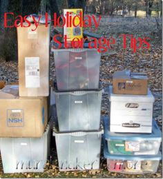 easy tips to maximize storage space for holiday decorations