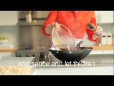 Stir-frying is easy. Check it out!