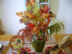 Centerpiece  for Fall Tables