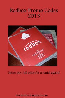 Promo codes - never pay for another redbox again!