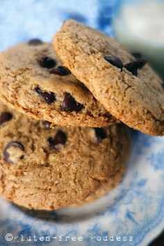 Buckwheat Chocolate Chip Cookies - Gluten-Free Recipes | Gluten-Free Goddess