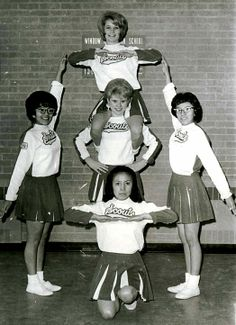 our cheerleading team should def. do this.