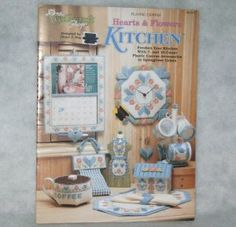 Plastic Canvas Hearts Flowers Kitchen Accessories Pattern Leaflet Needlecraft Shop