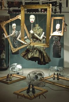 Lanvin store window idea #retaildetails