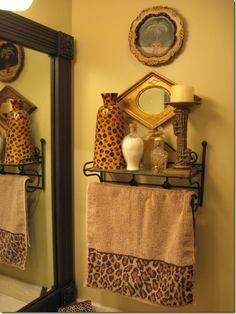 animal print bathroom ideas, decorating ideas, anim print, bathrooms decor, boy bathroom, bathroom designs, animal prints, bathroom decor, zebra print