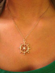 Nautical necklace.
