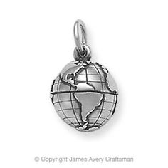 Planet Earth Charm from James Avery