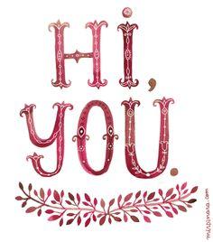 Hi you! by Dinara Mirtalipova