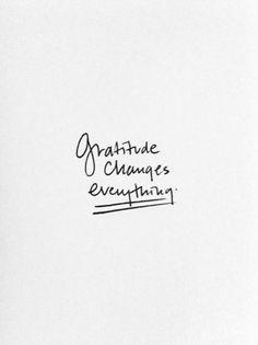 Cultivate a grateful heart.