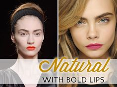 Natural look with bo