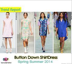 2014 trend, 2014 fashion, shirts, fashion trend, spring summer, dresses, buttons, fashion tips, shirt dress
