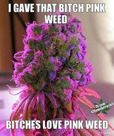 <3 bitchez love pink weed