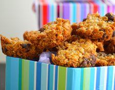Gluten Free Chocolate Chip-Coconut Granola Bites