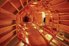 Crazy interior space