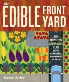 Design a beautiful edible front yard with the basic principles of good garden design: structure, repetition, form, texture and color. farm, edibl front, books, the plan, edible garden, food, front yards, vegetables garden, reading lists
