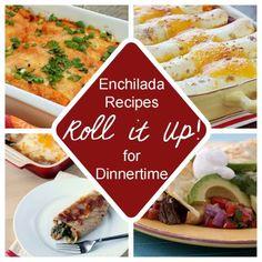 Roll It Up! Enchiladas Recipes for Dinnertime