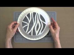 VIDEO TUTORIAL: Gelli™ Printing with Styrofoam Plates.  Gelli™ Printing with Styrofoam Plates Here's a great way to repurpose styrofoam plates to use in monoprinting! Watch this video for ideas on how to make your own unique reusable designs for Gelli printing!