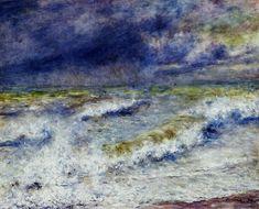 Seascape  Pierre Auguste Renoir