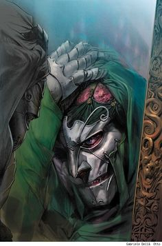 Doctor Doom by Gabriele Dell'Otto