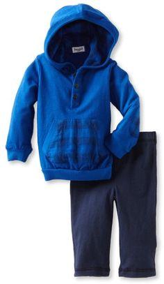 Amazon.com: Splendid Littles Baby-boys Infant Prep School Hoodie Set: Clothing