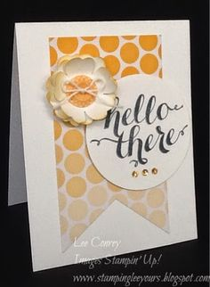 Everyday Adventure Project Life Kit used to make a cute card. Well Hello there!