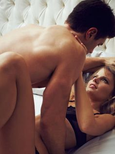 Challenge him to turn you on using only one finger on less obvious spots, like behind your knees and the nape of your neck.