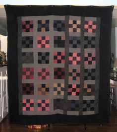 ANTIQUE AMISH QUILT~1890'S | eBay