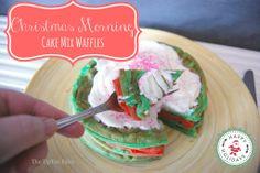 Christmas Morning Cake Mix Waffles & an iPad Mini Giveaway!! | The TipToe Fairy