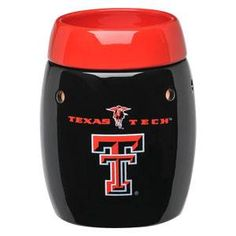 Texas Tech University Red Raiders  - this is the safe (without the safety risks of a burning candle ), wickless alternative to scented candles. This wickless concept is simply decorative ceramic warmers designed to melt scented wax with the heat of a light bulb instead of a traditional wick and flame.