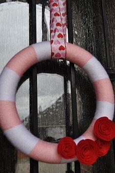 Lovely Valentine's Day Wreath