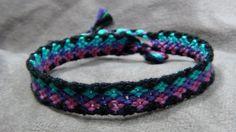 Hemp Friendship Bracelets | Macrame Friendship Bracelet - Stacked Diamonds from Beyond Bracelets ...