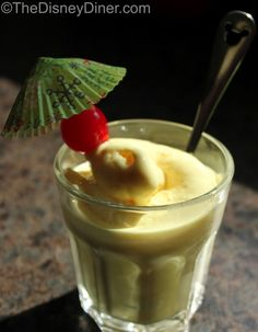 Recipe for Disney Dole Whip - If you've ever been to Aloha Isle in Disney World or Tiki Juice Bar in Disneyland then I'm sure you know all about the Dole Whip.