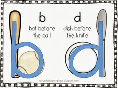 FREE Baby B and Baby D Reversal Posters